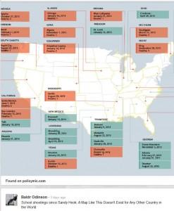 Baldr School Shooting Map