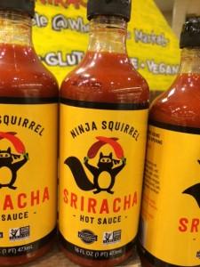 Ninja Squirrel Sauce