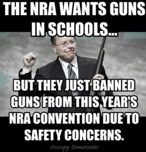 NRA Convention Guns