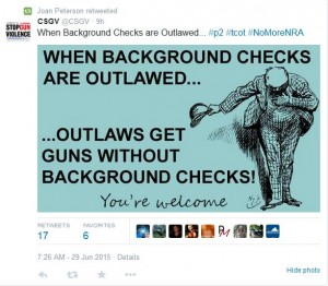 CSGV Outlaw Background Checks