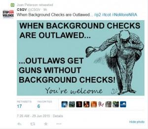 CSGV Outlaw Background Checks