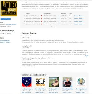 Loaded iTunes